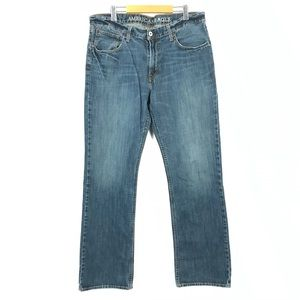 AE low rise boot jeans 36x33